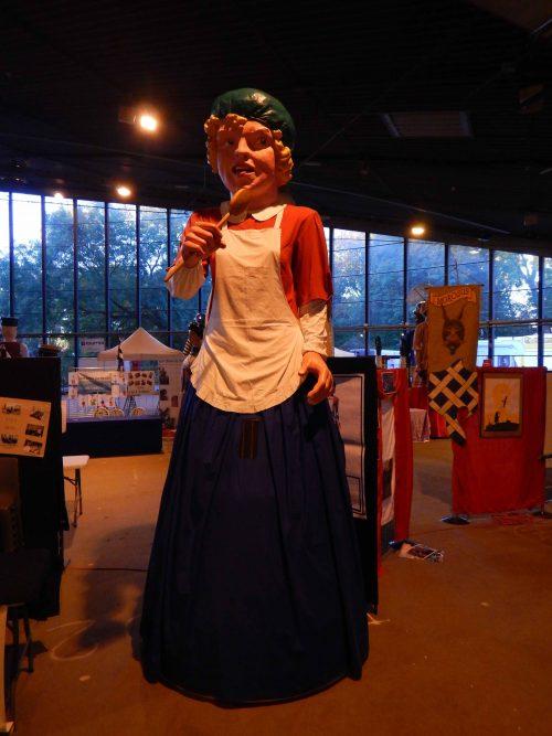 Miss Cantine, géante de Nieppe