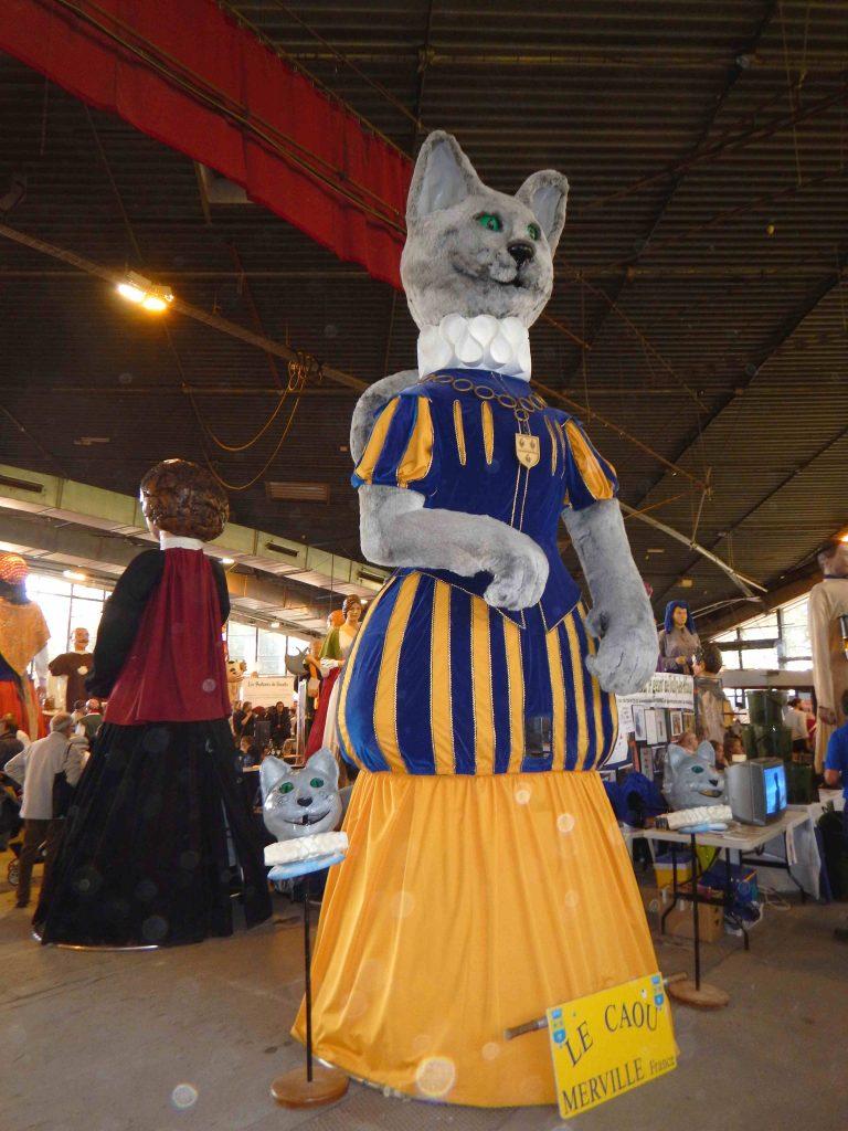 Le Caou au forum des géants 2016 (Cambrai)