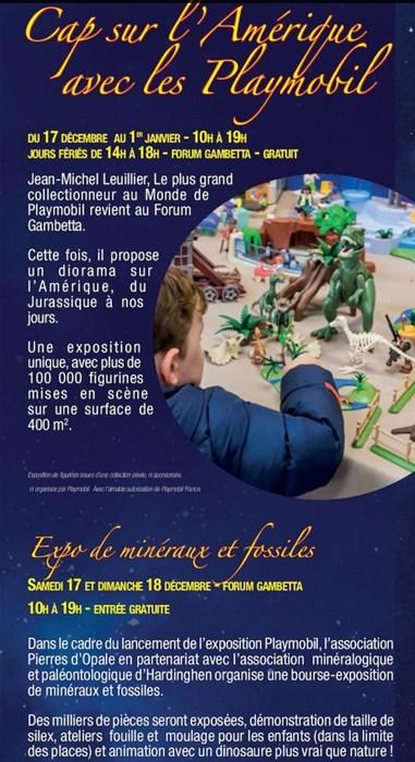 Un énorme diorama Playmobil à Calais!